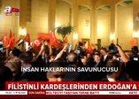 Filistinli kardeşlerinden Erdoğan'a şarkı