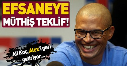 Fenerbahçe Başkanı Ali Koç'tan Alex de Souza'ya müthiş teklif! Yönetim ile takım arasında köprü olacak...