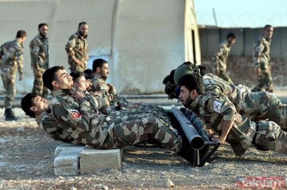 ÖSO askerleri savaşa böyle hazırlanıyor