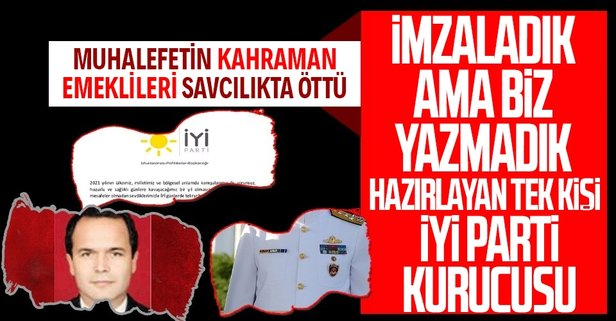 CHP ve İYİ Partililerin kahramanları savcılıkta öttü