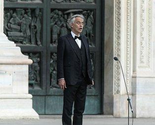 Andrea Bocelli Umut İçin Müzik' konseri verdi