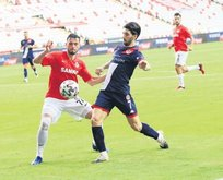 Antalya'da puanlar paylaşıldı