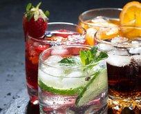 Gazlı içecekler dişleri döker