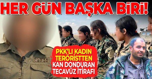 PKK'da kan donduran tecavüz çığlığı
