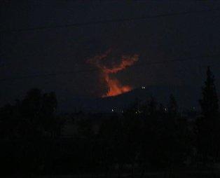 İran'ın başkenti Tahran'da patlama!