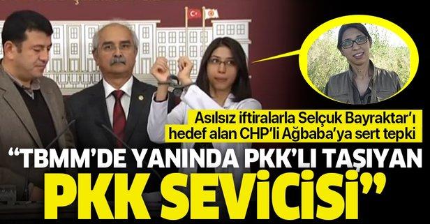 Asılsız iftiralarla Selçuk Bayraktar'ı hedef alan CHP'li Veli Ağbaba'ya sert tepki: TBMM'de yanında PKK'lı taşıyan PKK sevicisi - Takvim