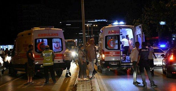 İzmirde zincirleme kaza!