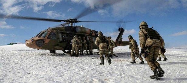 Çukurca'da SA-7 füze mühimmatı ele geçirildi