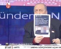 Halk TV'de rezalet! Fotoğraflarını göstererek deşifre etti!