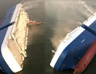 Dünya şokta! Ünlü otomobil firmasının kargo gemisi battı