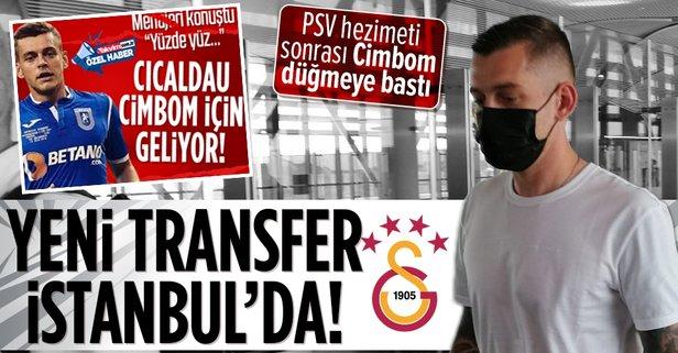 Galatasaray Cicaldau transferini resmen açıkladı
