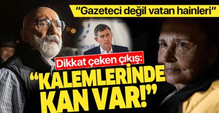 Metin Feyzioğlu'ndan Nazlı Ilıcak ve Ahmet Altan açıklaması: Kalemlerinde kan vardır