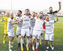 Play-off'un son bileti Erzurum'un