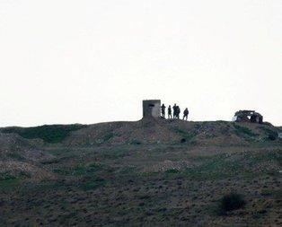 Silahlı teröristler mevzilerinde ilk kez görüldü