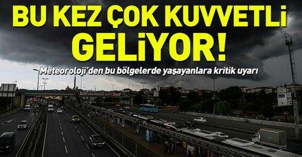 Meteoroloji'den kuvvetli yağış uyarısı! İstanbul'da bugün hava nasıl olacak? 20 Ocak 2019 hava durumu