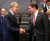Bakan Akar,  ABD Savunma Bakanı Mark Esper ile görüştü