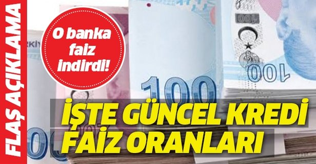 Halkbank'ta faiz indirdi! İşte kredi faiz oranları