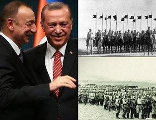 Bakünün kurtuluşunun 100.yıl dönümünde Erdoğan Azerbaycanda