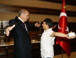 Cumhurbaşkanı Erdoğan'dan çocuklara özel ilgi