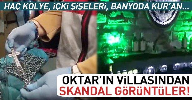 Adnan Oktar'ın villasından yeni görüntüler!
