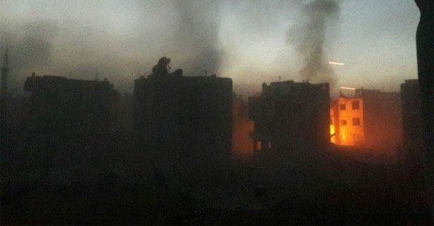 Katil Esad yine sivilleri katletti