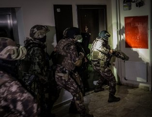 Ankara'da bin polisin katılımıyla narkotik uygulaması