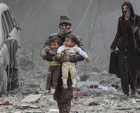 Katil Esad çocuklara bile acımadı