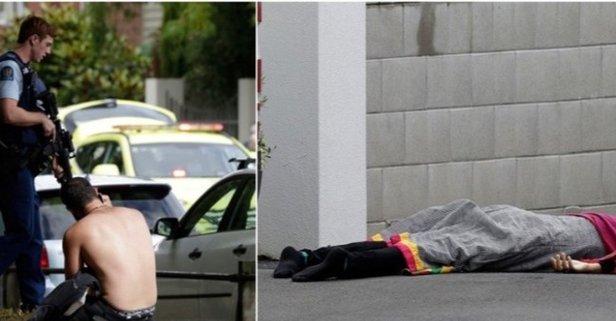 Yeni Zelanda camiye saldırı görüntüleri izle!