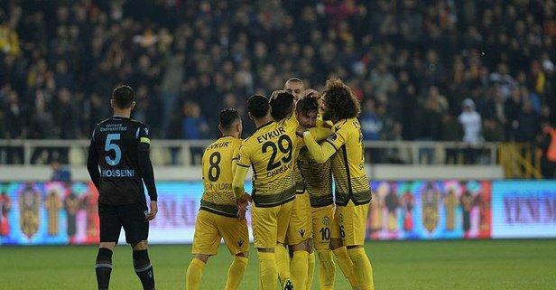 Malatya'da Trabzonspor'a şok!