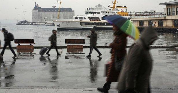 Meteorolojiden son dakika sağanak yağış uyarısı