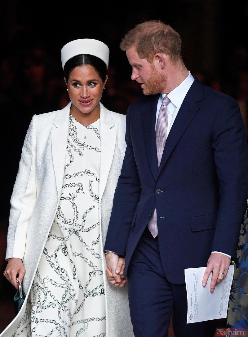 İngiliz kraliyet ailesinin yeni üyesi doğdu! İşte Meghan Markle ile Prens Harry'nin bebeği!