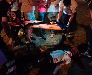 Bursa son dakika haberi: Kavgadan kaçan genç aracın altında kalarak ağır yaralandı