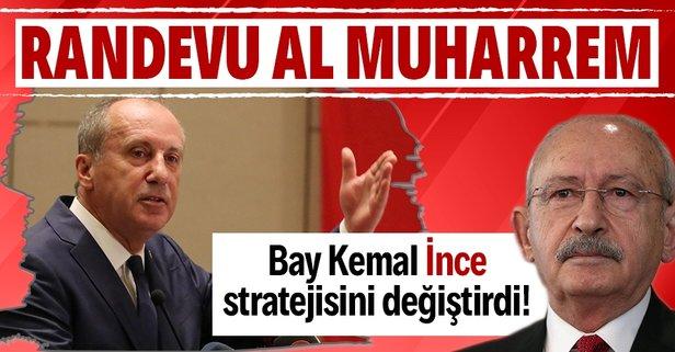 CHP'den Muharrem İnce'ye randevu al gel mesajı!