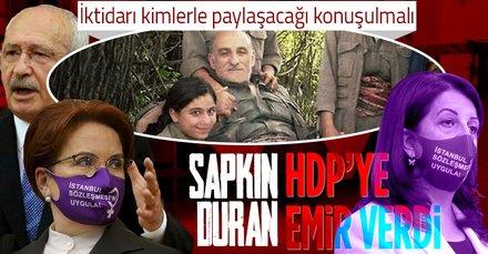 Duran Kalkan'dan HDP'ye emir