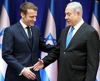 İsrail'de skandal! Macron'u Putin ile karıştırdılar