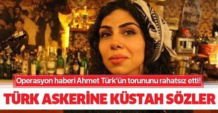 Ahmet Türk'ün torunundan küstah sözler! Türk askerine 'köpek' dedi!