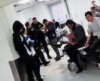 Gaziantep'te çok sayıda öğrenci hastanelik oldu!