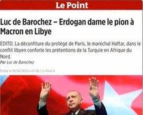 Erdoğan Macron'a şah çekti