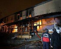 Kastamonu'da gece yarısı korkutan yangın
