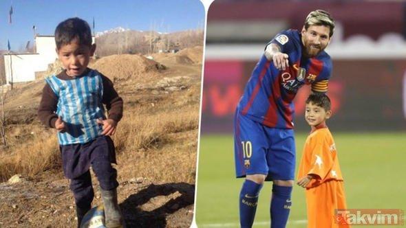 Afgan Messi ve ailesi Taliban tehdidi nedeniyle yaşadıkları kenti terk etti