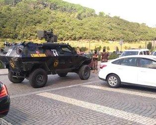 İstanbulda AVMde silahlı kişi paniği