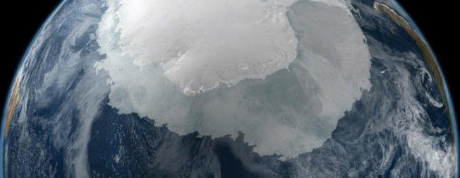 Antartika'da sırrı çözülemeyen dev cisim!