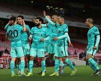 Liverpool durdu durdu Arsenal'i vurdu