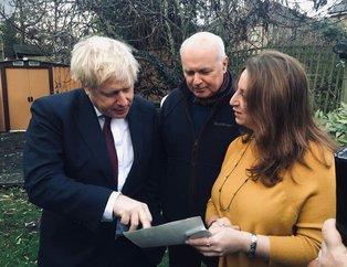 İngiltere Başbakanı Boris Johnson'ı heyecanlandıran fotoğraf!