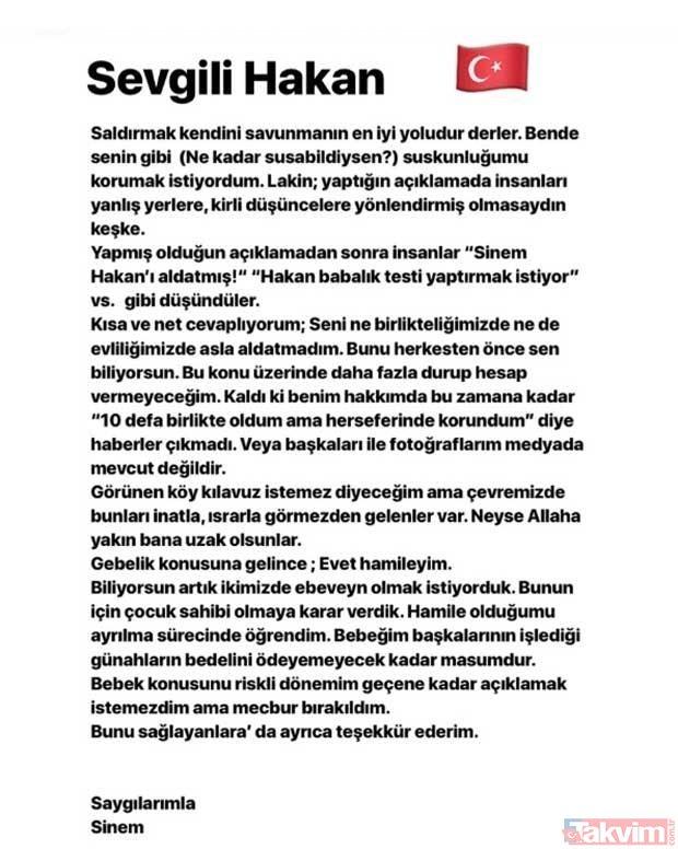 Hakan Çalhanoğlunun eşinden cevap gecikmedi!