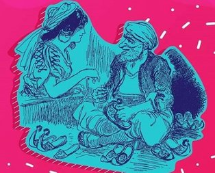 Ali Baba ve Kırk Haramiler masalında Ali Baba'nın kardeşinin adı ne?