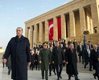 Cumhurbaşkanı Erdoğan'dan Instagram ve Twitter'dan '10 Kasım' mesajı
