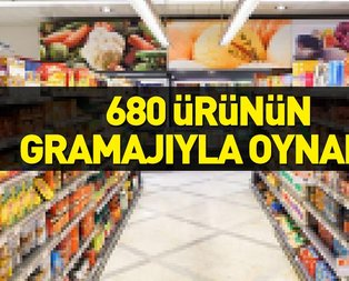 680 ürünün gramajıyla oynandığı tespit edildi