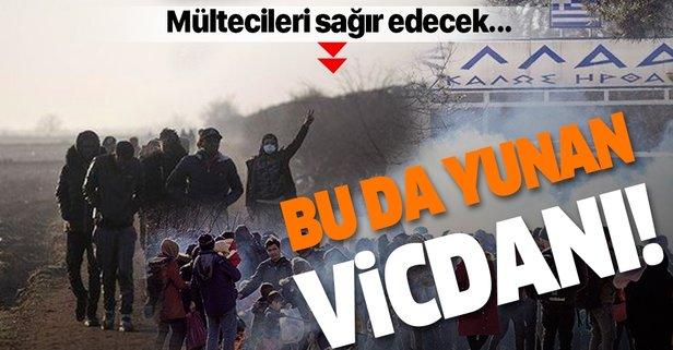Mültecilere Yunan zulmü!