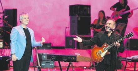 Cengiz Kurtoğlu ve Ümit Besen'den Harbiye'de müzik ziyafeti